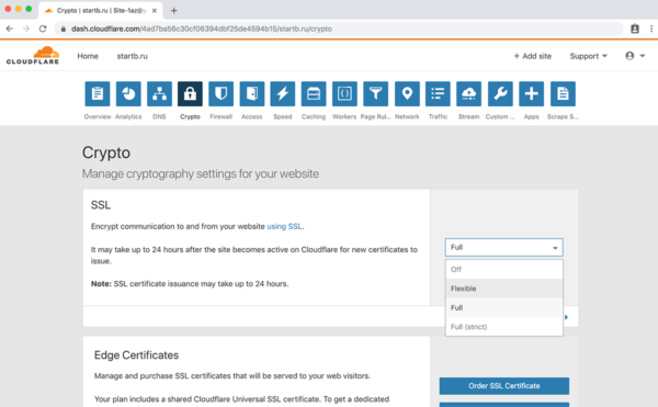 Как получить бесплатный SSL сертификат и настроить https для домена