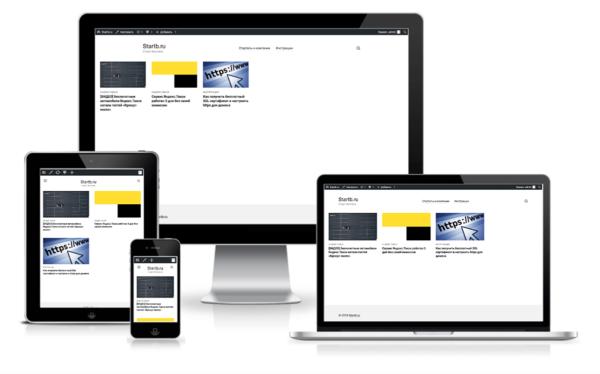 Как получить отображение вашего сайта на различных экранах